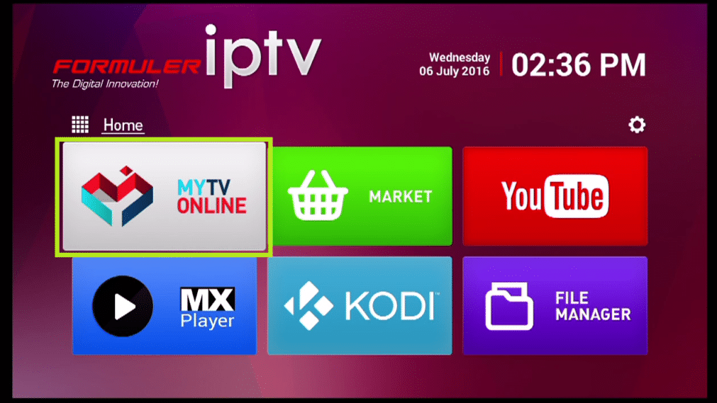 Comment installer l'IPTV sur l'application MyTvOnline des box Formuler